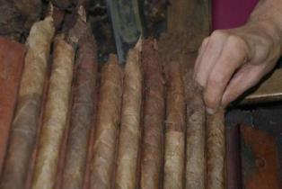 Сигар без обвёрточного листа